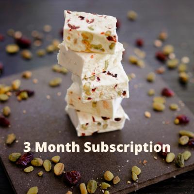 3 Month Subscription Nougat